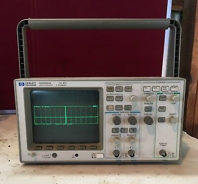 Hp-agilent-keysight 54600a Oscilloscope 100mhz 2 Channel Used Unit