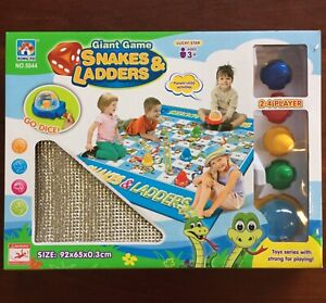 Children's Giant Snakes and Ladders Game