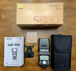 Nikon SB-800 Speedlight i-TTL Flash