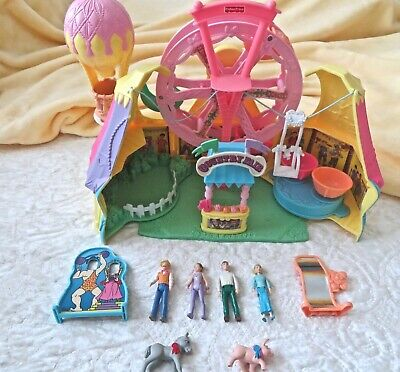 Fisher Price VINTAGE SWEET STREETS COUNTRY FAIR PLAY SET 2002