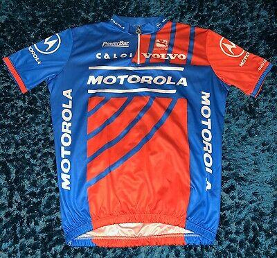 Retro 90's Team Motorola Giordana Cycling 1/4 Zip Jersey Size XL/6