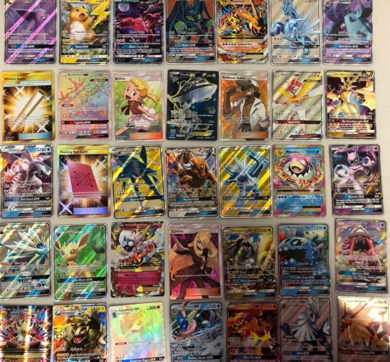 Pokemon Card Lot 100 OFFICIAL TCG Cards Ultra Rare