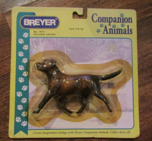 BREYER Chocolate Labrador Dog Companion Animals NEW