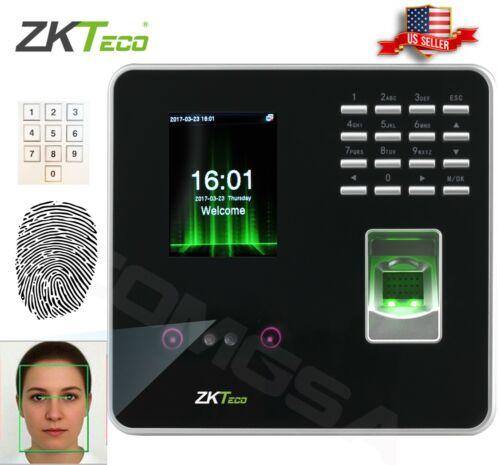 ZKTeco Face Fingerprint Identification Tme Attendance & Access Control Zk. USA