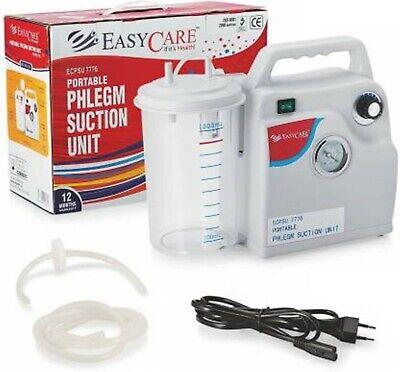 Portable Quiet Suction Unit Vacuum Phlegm Medical Emergency Aspirator