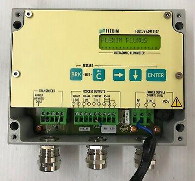 Flexim Fluxus Adm 5107 Ultrasonic Flowmeter