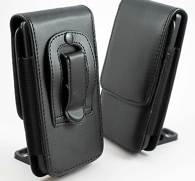 L LEATHER BELT CLIP POUCH HOLSTER FLIP CASE COVER HOLDER SEE PHONE OPTIONS MENU