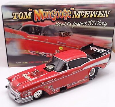 Tom Mongoose McEwen 1:16 scale 1957 Chevy Bel Air Funny Car / Pro Mod Milestone