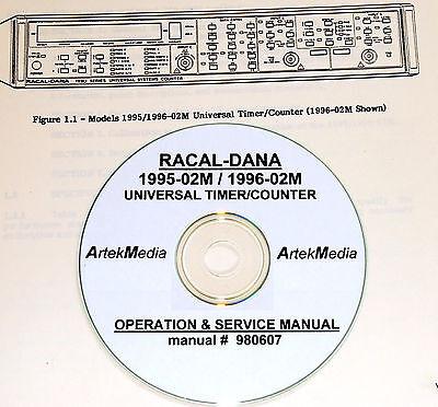 Racal-dana 1995-02m 1996-02m Manual Ops Service