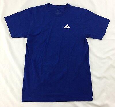 Adidas Shirt The Go To Tee Shirt Mini Side Logo Blue Cotton CV1462 XL Side Logo Tee