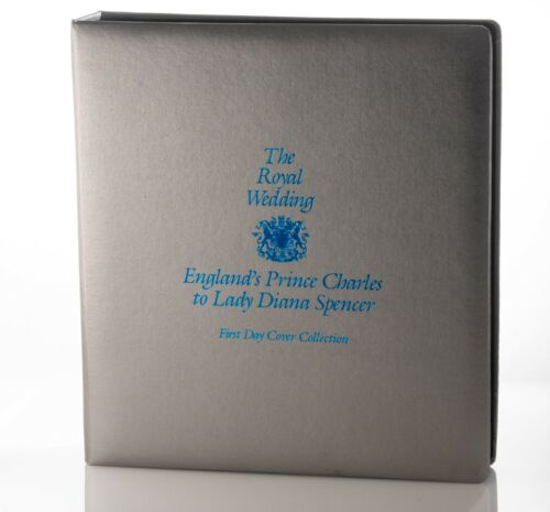 ROYAL WEDDING Prince Charles to Princess Diana First Day Cover Collection VG