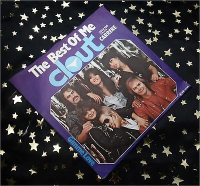 CLOUT - The Best of me * 1980 * TOP SINGLE (M-:)) im TOP