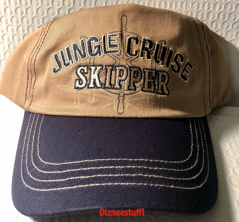 Disney Parks Jungle Cruise Skipper Adult Baseball Cap Hat New!