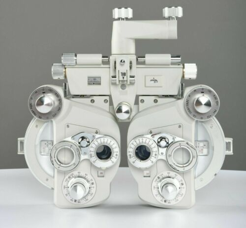 Brand  Manual Refractor Phoropter Optical Phoroptor Optometry White