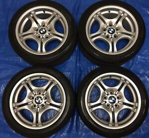 "2005 BMW 3 Series 17"" OEM Wheels & Tires *Amazing Cond.*"