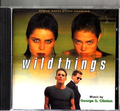 WILD THINGS- Original Soundtrack Score 1998 CD- George S. Clinton- (Morphine)