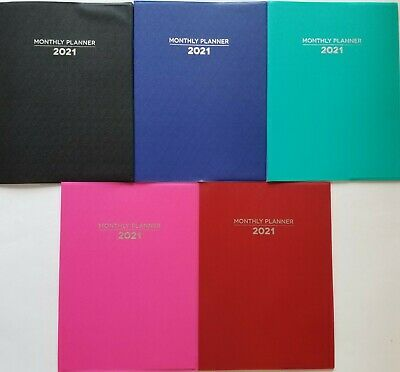 2021 Monthly Appointment Planners Calendar 10.25 X 7.5 Select Color