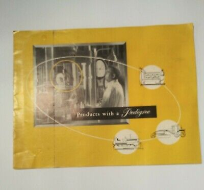 Vintage 1950s Caterpillar Bookletbrochure Northern Commercial Company Seatle