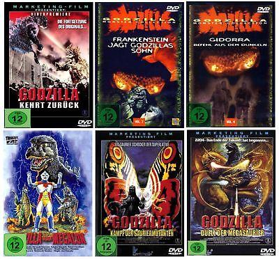 DIE GODZILLA BOX Monster Collection Fan Edition (6 Klassiker) [FSK12]