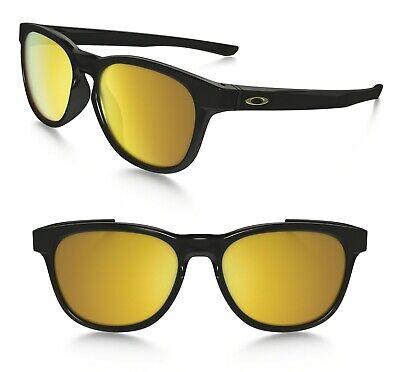 Oakley Stringer Sunglasses OO9315-04 Polished Black Frame / 24K Iridium Lens