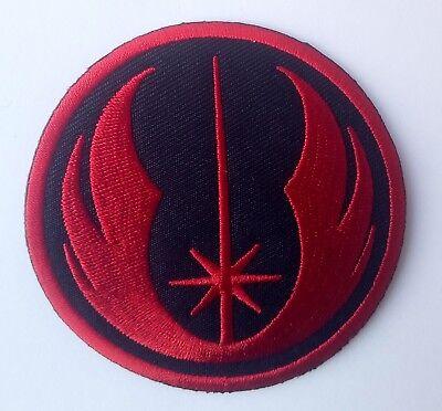 Stars Wars Jedi (Star Wars Jedi Logo - Uniform Patch Kostüm Aufnäher zum Aufbügeln - neu)