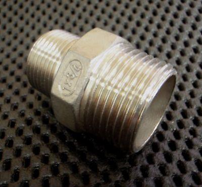 Stainless Steel Reducer Nipple 1 X 34 Npt Pipe Rn-100-075