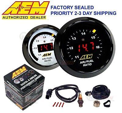 GENUINE AEM 30-4110 Wideband Gauge Controller AFR O2 Air Fuel Ratio 2 1/16