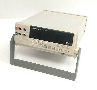 Fluke 45 Dual Display Multimeter 5.5 Digit Rs-232c Interface