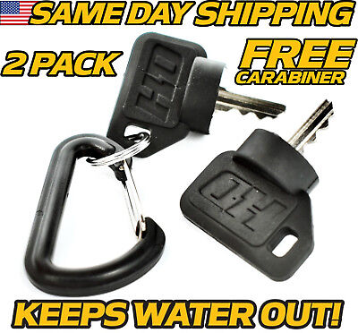 (2 pk) John Deere Ignition Key Z225 Z245 Z425 Z445 Z465 Z510 Z520 Z645 Z655 Z665 for sale  Boca Raton
