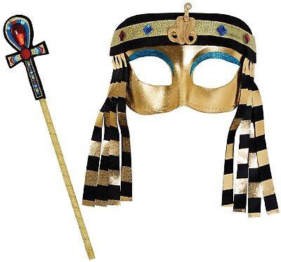 Mädchen Jungen Instant Ägyptische König Buch Tag Halloween Kostüm Set