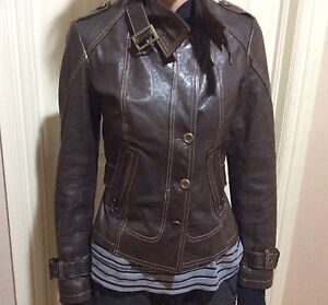 BRAND NEW DANIER LEATHER JACKET! Real leather!