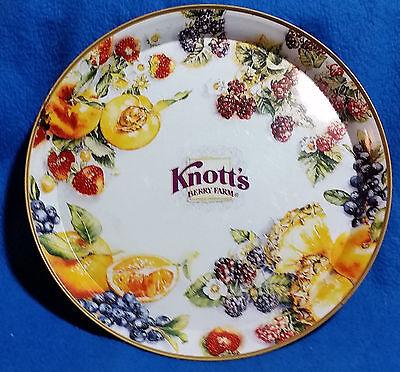 Vintage Knott's Berry Farm Collectors Tin Tray
