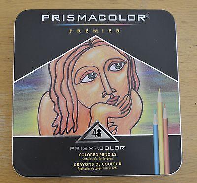 OFERTA Prismacolor Premier 48 Pinturas Lapices Colores Arte Caja con detalles 2 segunda mano  Embacar hacia Argentina