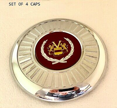 SET OF FOUR APPLIANCE WIRE WHEEL CENTER CAPS (FWD WHEELS) 00250