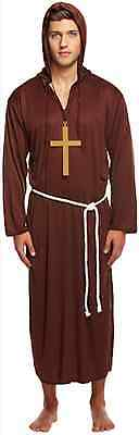 & Kreuz Maskenkostüm Friar Tuck Halloween Religiös (Friar Tuck Kostüm)
