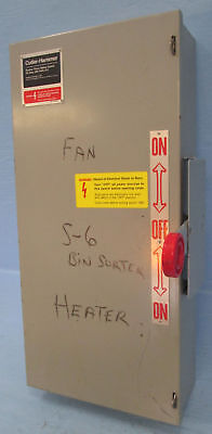 Cutler Hammer Dt361ugk 30 Amp Double Throw Safety Switch Manual Transfer 30a