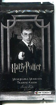 Harry Potter Memorable Moments Series 2 Factory Sealed Hobby Packet / Pack