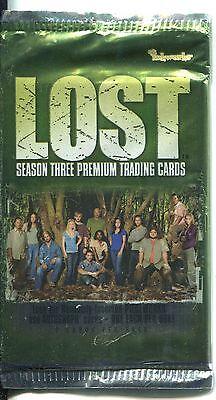 Lost Season 3 Factory Sealed Hobby Packet / Pack