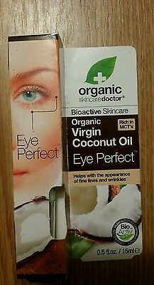 Organic Skin Care Doctor Organic Coconut Oil Eye Perfect  0 5Oz