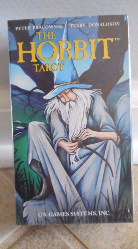 HOBBIT TAROT DECK CARDS BOOKLET LORD OF RING MYSTICAL FANTASY MEDITATION CHARITY