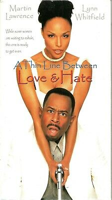A Thin Line Between Love and Hate VHS 1996 Martin Lawrence Lynn Whitfield VTG
