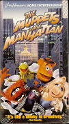 The Muppets Take Manhattan VHS