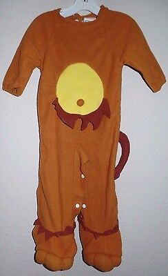 baby boys LION HALLOWEEN COSTUME 1 PC size NEWBORN to about 6 month TUMMY TAIL - Newborn Lion Costume