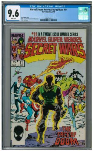 Marvel Super Heroes Secret Wars #11 (1985) CGC 9.6 AA452