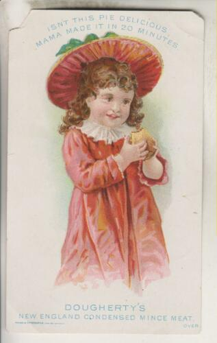 VINTAGE ADVERTISING CARD - DOUGHERTY