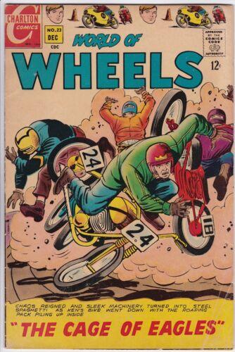 WORLD OF WHEELS # 23 CHARLTON - JACK KELLER - MOTORCYCLES