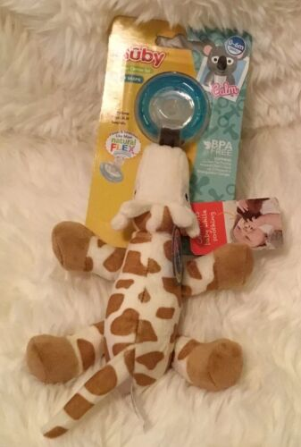 Baby Feeding - Nuby - Snoozies Pacifier Combo Set Giraffe 92