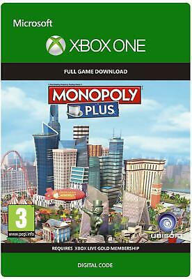 MONOPOLY PLUS XBOX ONE FULL GAME DIGITAL DOWNLOAD KEY