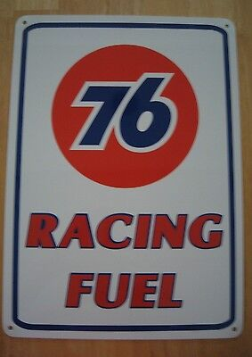 UNION 76 Racing Fuel Gas Pump SIGN Service Station Mechanic Garage Free Shipping