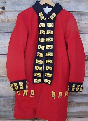 Revolutionary War British Army Regimental Red Frock Coat 52